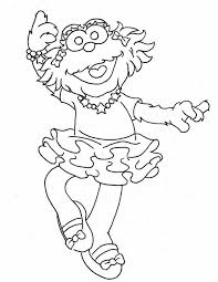 Small Picture Sesame Street Coloring Printables Coloring Coloring Pages