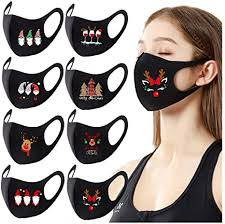 Rioge Christmas Adults <b>Reusable</b> Face Bandanas_Mask_Covering ...