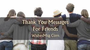 <b>Thank You</b> Messages For <b>Friends</b> - Sweet Notes & Quotes ...