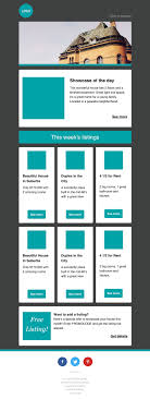 newsletter templates email templates cakemail com real estate