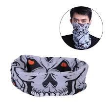 <b>Seamless Multi-functional Magic</b> Scarves Variety Mask Warm ...
