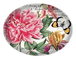 <b>Michel Design Works</b> Glass Soap Dish, <b>Peony</b> - Buy Online in Fiji ...