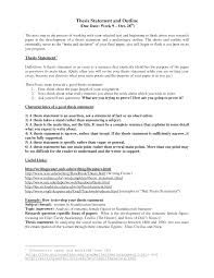 where do you put thesis statement in research paper examples