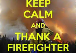 Shoutout To All The Firefighters That Have Come From All Over ... via Relatably.com