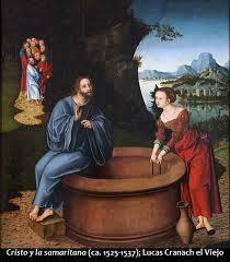 Resultado de imagen de jesus y la samaritana