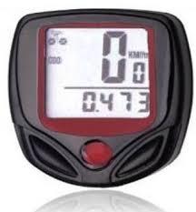 MK 1 Pc <b>Waterproof Digital LCD</b> Bicycle Computer Odometer Speed ...