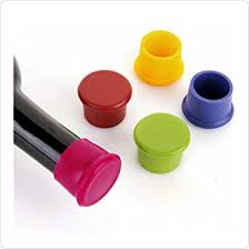 Ziaon <b>Silicone</b> Reusable Wine <b>Bottle</b> Caps/Beer Sealer Cover ...