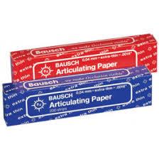 """Bausch, Art. Paper, <b>BK</b>-09, Extra thin, Blue, 40u/.0016"""", 200 Strips ..."""