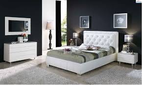 Modern Chairs For Bedroom Cinderella 661 Bedroom Set In White Leather By Dupen Made In Spain