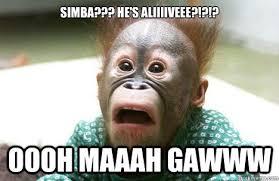 Simba Hes Alive memes | quickmeme via Relatably.com