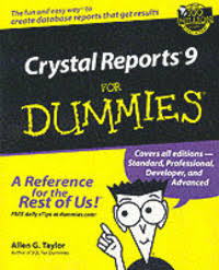 <b>Crystal</b> Reports 9 For Dummies - <b>Allen G Taylor</b> - Häftad ...