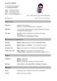 good cv examples in english curriculum vitae good cv examples in english examples of good and bad cvs university of kent curriculum vitaejeanmarcimeleenglishjpg
