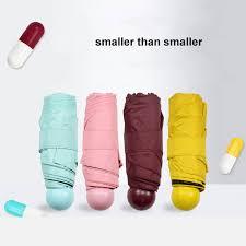 Online Shop Quality Capsule <b>Mini Pocket Umbrella</b> Clear women's ...
