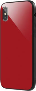 <b>Клип</b>-<b>Кейс Vipe Glass Apple</b> iPhone Х прямоугольный Red - цена ...