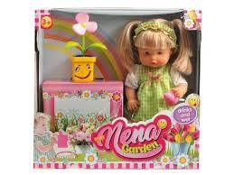 Купить <b>куклу</b> набор <b>Dimian</b> Baby Нена с цветком, 38 см, BD386 по ...