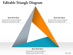editable triangle diagram for powerpoint