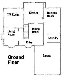 Simpsons house floor plan The Simpsons House Floor Plan