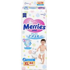 <b>Merries подгузники</b> размер <b>XL</b>, <b>12 20 кг</b>, 44 шт|baby diapers ...