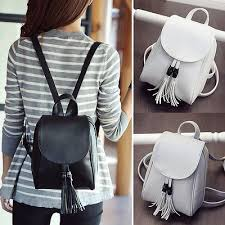 faux leather mini small backpack rucksack travel casual purse cute bag accessoriesendearing lay small