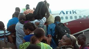Image result for arik airport fight