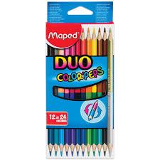 """<b>Карандаши цветные MAPED</b> (Франция) """"<b>Color</b> Pep's"""", 24 цвета ..."""