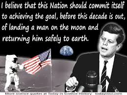 「1961, apolo plan, kennedy said men to the moon within ten years」の画像検索結果