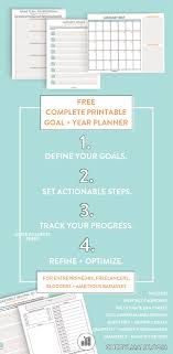 goal planning printable year and goal planning package and complete printable 2017 year and goal planner for entrepreneurs bloggers lancers and