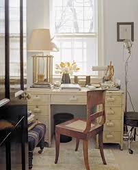 office desk designer american modern thomas obrien example of a cottage chic home office design chic home office design
