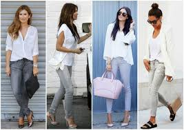 chic and stylish interview outfits for ladies white top outfit