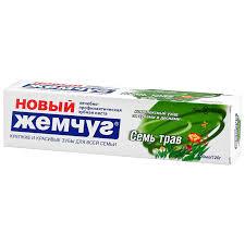 <b>Зубная паста Новый жемчуг</b> травы комплексный уход, 100 г ...