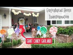 Giant Candy Garland - YouTube