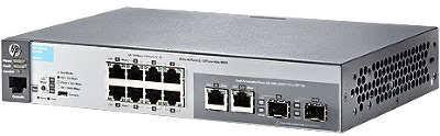 <b>Коммутатор HP 2530-8-PoE</b> (<b>J9780A</b>) 8-портов 10/100BASE-T/SFP