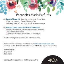 mado parfums vacancies at mado parfums facebook no automatic alt text available