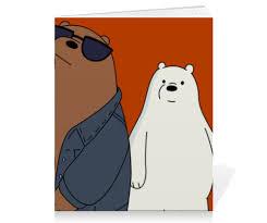 Тетрадь на скрепке <b>We bare</b> bears #898091 от scoopysmith