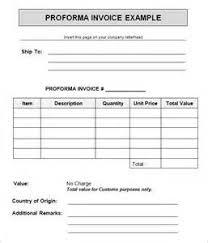 proforma invoice format   example good resume templateproforma invoice format