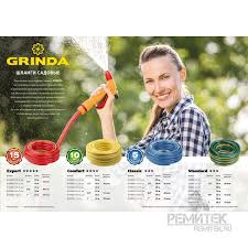 <b>Шланг GRINDA COMFORT</b> поливочный, 25 атм., армированный ...