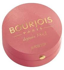 <b>Bourjois</b> Little Round Pot <b>Blusher Rose Coup</b> de Foudre RS CP DE ...