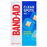 <b>Band</b>-<b>Aid Clear</b> Spots - 40 Pack | Amcal