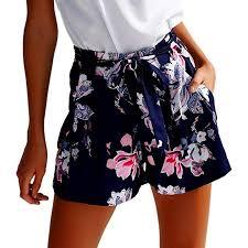 <b>2018 Fashion</b>!Women <b>New</b> Hot Pants <b>Summer</b> Floral Shorts High ...