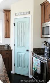 painted door pantry linen larder kitchen paint the pantry door an accent color jenn l harlan bowman would be gr