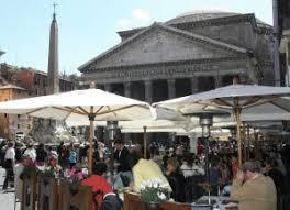 Risultati immagini per centro roma tavolini ristoranti