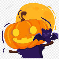 <b>Pumpkin</b> little <b>bat element</b> on <b>halloween</b> png image_picture free ...