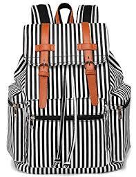 BLUBOON Laptop <b>Backpack</b> Canvas PU <b>Casual Women</b> Travel ...