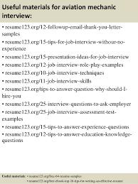 Top   aviation mechanic resume samples SlideShare