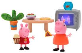 Игровой набор Intertoy <b>Peppa Pig Пеппа</b> и Мама смотрят фильмы ...