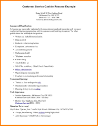 summary qualifications resume examples customer service in summary qualifications resume examples customer service in professional customer service resume formt cover letter examples how
