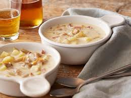 New England Clam Chowder Recipe | Anne Burrell | Food Network