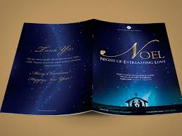a photoshop brochure template for everyone out there noel christmas brochure template