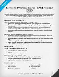 licensed practical nurse lpn resume sample resume example entry level