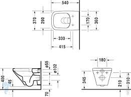 <b>Унитаз подвесной DURAVIT</b> DURASTYLE 370х540х355 ...